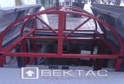 Тротуарный подъемник, г/п 1000 кг
